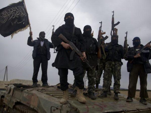 Các tay súng thánh chiến ở Syria