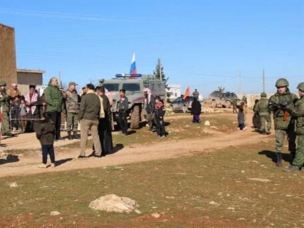 Quân đội Nga hiện diện ở Syria