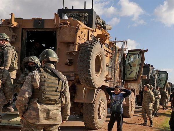 Lực lượng Thổ Nhĩ Kỳ hiện diện ở Syria