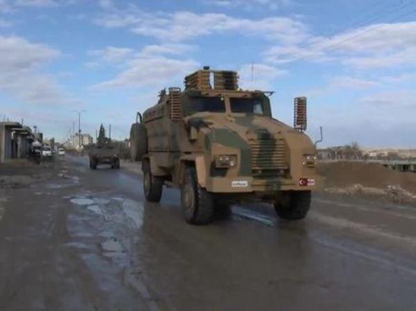 Xe quân sự Thổ Nhĩ Kỳ ở Idlib, Syria