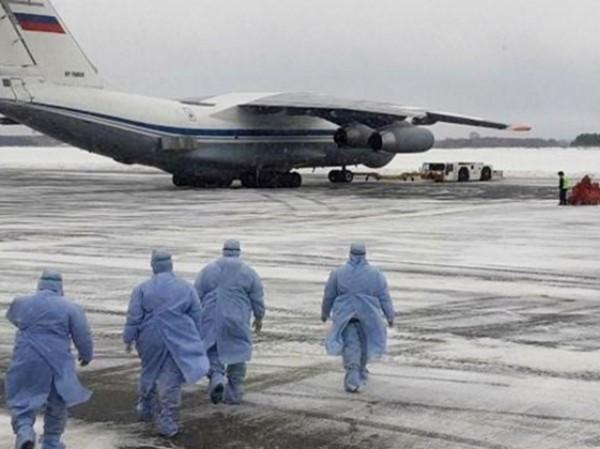 Nga đề nghị hỗ trợ Mỹ trong cuộc chiến chống Covid-19