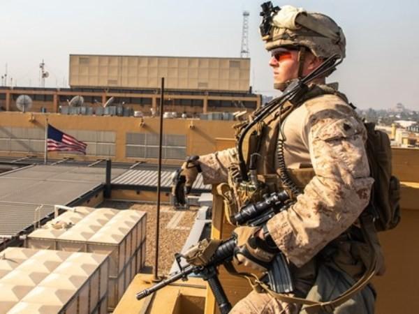 Rocket rơi gần Đại sứ quán Mỹ ở Vùng Xanh, Iraq