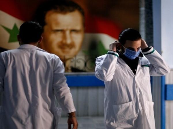 Các bác sĩ Syria tham gia chống dịch Covid-19