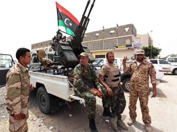 Lực lượng quân đội Quốc gia Libya
