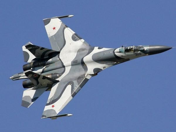 Hình ảnh chiếc Su-27 của Nga