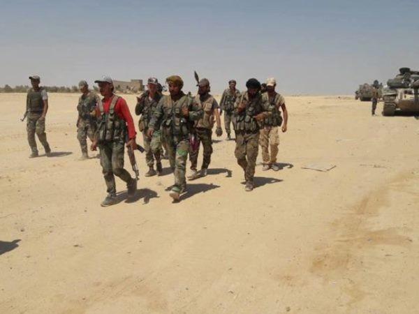 IS tổn thất nặng nề sau nhiều giờ giao chiến ác liệt với quân đội Syria ảnh 1