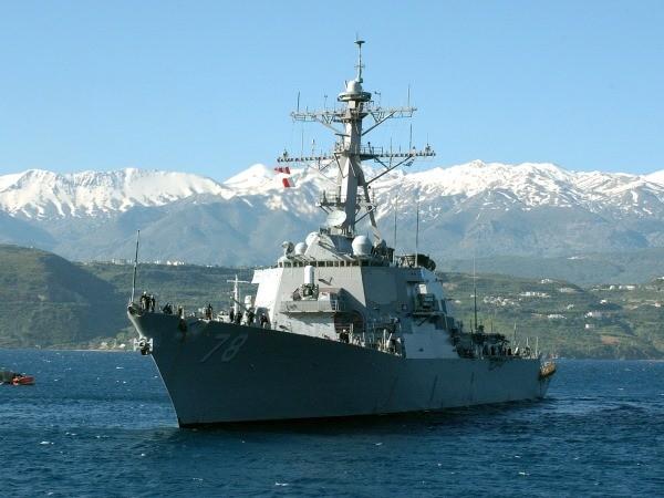 Không rõ lý do chưa đầy 24 tiếng Mỹ điều tàu tên lửa thứ hai đến bờ biển Nga ảnh 1