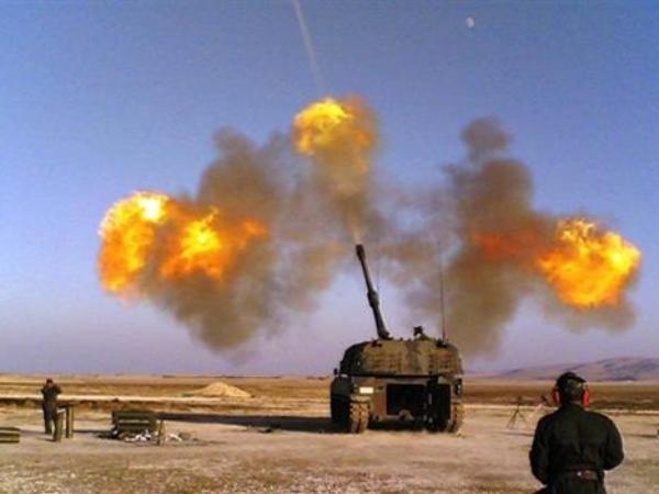 Thổ Nhĩ Kỳ nã đạn pháo vào các vị trí của SAA ở Đông Bắc Syria ảnh 1