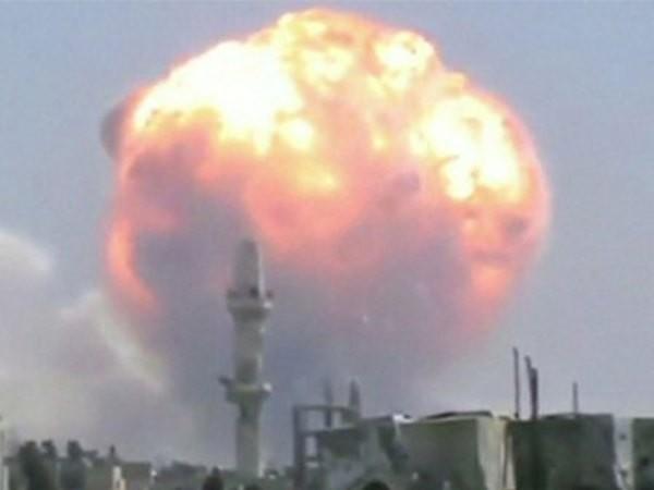 Liên tiếp xảy ra các vụ nổ lớn ở Syria ảnh 1