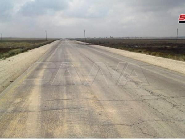 Cao tốc quốc tế Raqqa - Aleppo