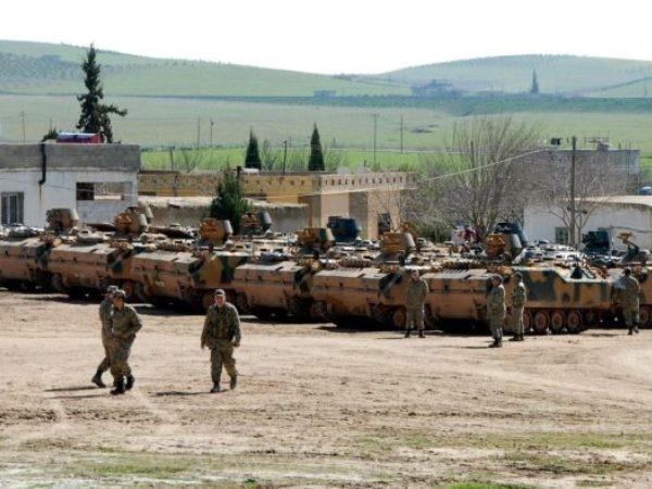 Lực lượng quân đội Thổ Nhĩ Kỳ ở Syria