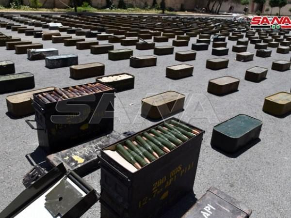 SAA phát hiện kho vũ khí lớn ở Nam Syria, ngày 1-6-2020