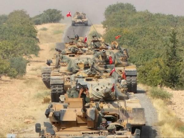 Xe tăng Thổ Nhĩ Kỳ ở Idlib, Syria
