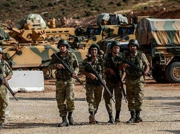 Binh sĩ Thổ Nhĩ Kỳ ở khu vực biên giới Iraq
