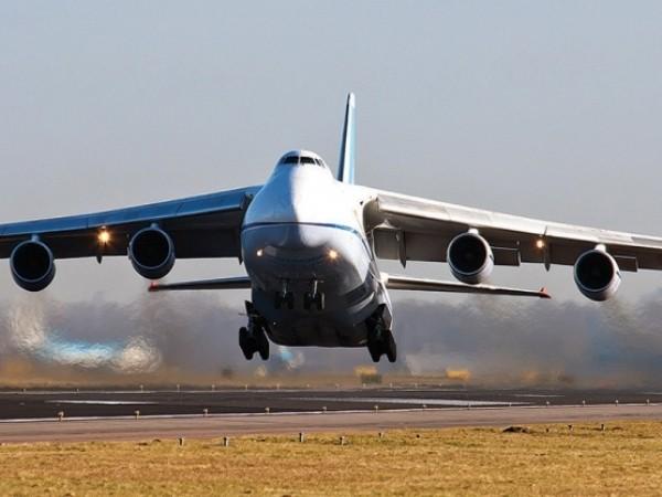 Máy bay vận tải hạng nặng An-124 của Nga được nhìn thấy hạ cánh xuống Libya, ngày 29-6-2020