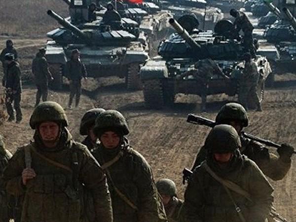Lực lượng quân sự Nga được triển khai sát biên giới Ukraine