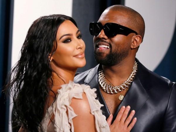Vợ chồng Kanye West và Kim Kardashian