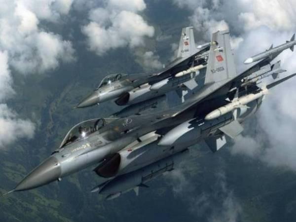 Các chiến đấu cơ của lực lượng không quân Thổ Nhĩ Kỳ