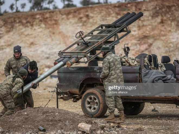 Phiến quân được Thổ Nhĩ Kỳ hậu thuẫn hoạt động ở phía Bắc Syria