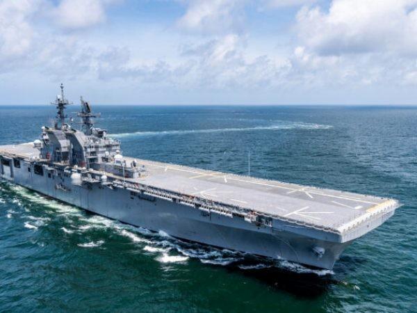Tàu tấn công đổ bộ USS Tripoli của Mỹ