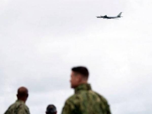 Máy bay chống ngầm tầm xa Tu-142 của Nga xuất hiện ngay khu vực hải quân NATO đang tập trận