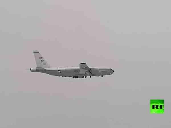 Nga phát hiện máy bay trinh sát RC-135 của Mỹ đang tiến gần đến biên giới, ngày 11-7-2020