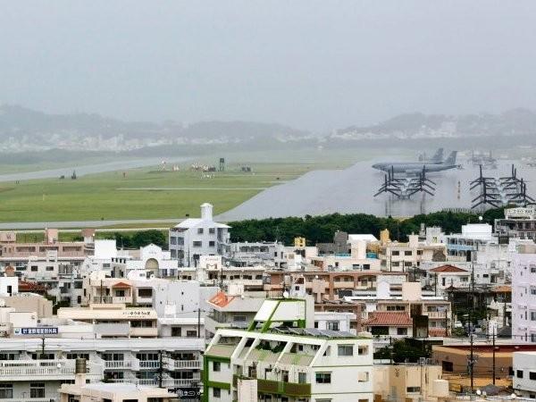 Căn cứ không quân Futenma của Lực lượng lính thủy đánh bộ Mỹ tại Ginowan, tỉnh Okinawa, Nhật Bản