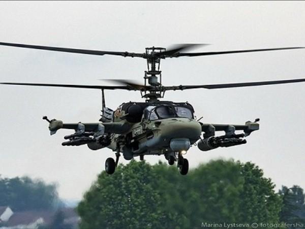 Máy bay trực thăng tấn công Mi-8AMTSh của Nga