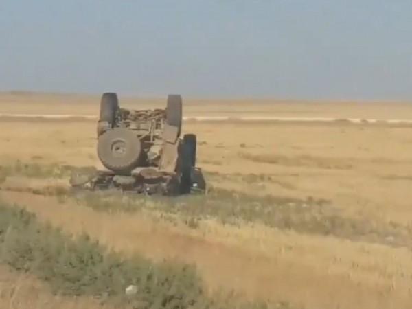 Binh sĩ Mỹ thiệt mạng sau vụ vam chạm với xe tuần tra Nga ảnh 1