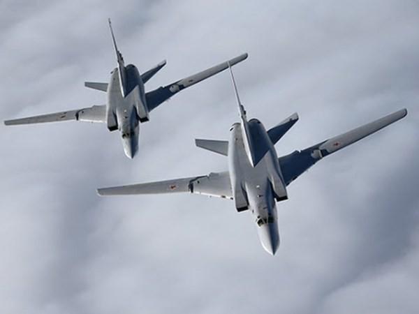 Hai máy bay Tu-22M3 của Nga