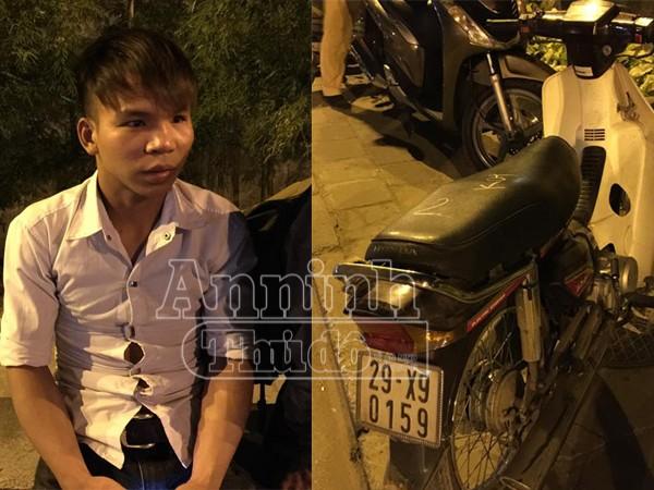 Đỗ Hùng Vương và chiếc xe đi mượn được xác định là xe trộm cắp