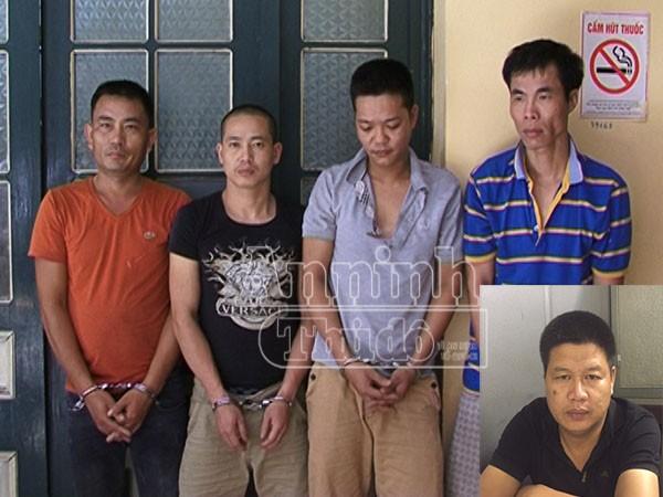 Các đối tượng trong ổ nhóm bị bắt giữ