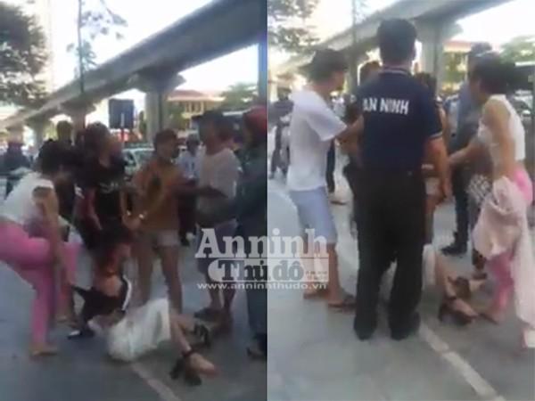 Cô gái bị nhóm phụ nữ đánh đạp, xé áo không thương tiếc