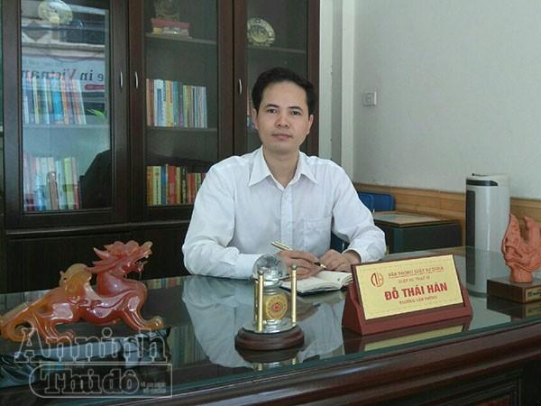 Luật sư Đỗ Thái Hán - Trưởng văn phòng Luật DOHA