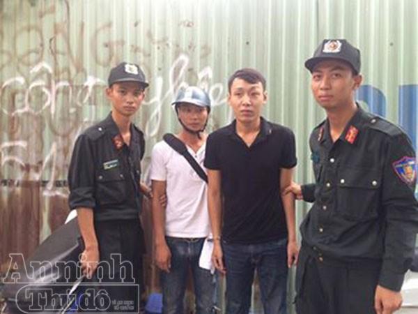 Hai đối tượng mang theo ma túy bị bắt giữ