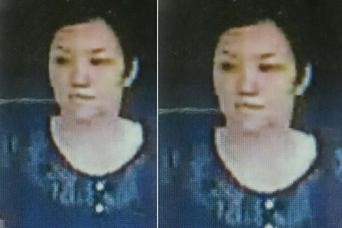 Hình ảnh của đối tượng trộm cắp điện thoại nhận diện qua camera an ninh