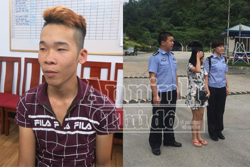 Trần Ngô Đức Việt (trái) đã bán cả người yêu chỉ để lấy 5 triệu đồng
