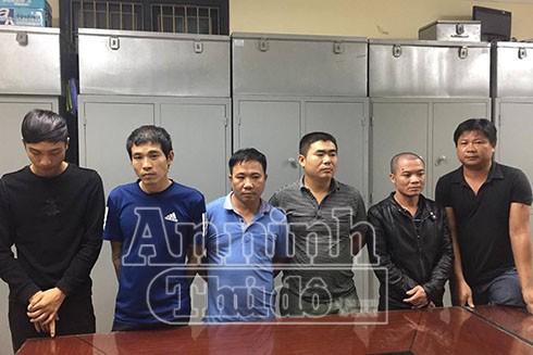 Ổ nhóm cầm đầu đường dây đánh bạc và tổ chức đánh bạc bị bắt tại Phú Xuyên