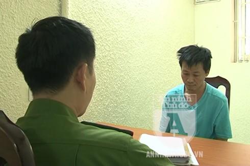 Đối tượng Đinh Ngọc Minh, kẻ chuyên đột nhập các chung cư cho thuê làm văn phòng để trộm cắp tài sản