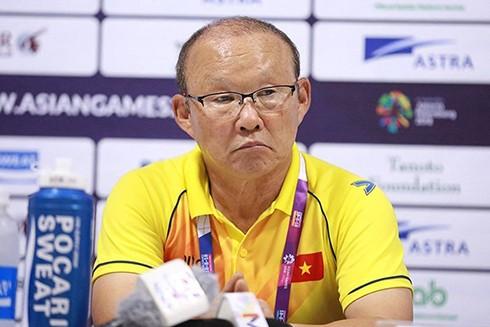 HLV Park Hang-seo trả lời sau trận thắng Nepal