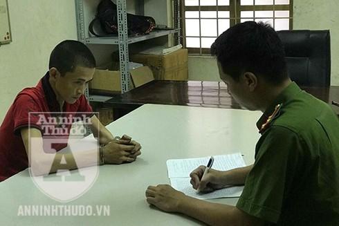 """Đối tượng Nguyễn Giang Sơn đã có 1 tiền án tội """"Công nhiên chiếm đoạt tài sản"""""""