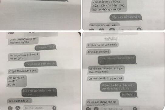 """Kẻ gian nhắn tin cho chủ sở hữu Ví Momo, giả là người thân để """"vay"""" tiền"""