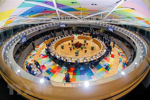 Toàn cảnh ngày họp thứ hai Hội nghị thượng đỉnh Liên minh châu Âu (EU) ở Brussels, Bỉ, ngày 14/12/2018. (Nguồn: AFP/TTXVN)