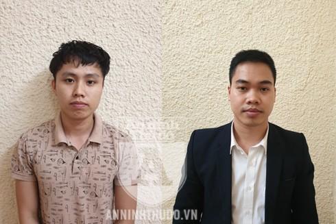 """Hai """"ông chủ"""" 9X Nguyễn Xuân Lâm và Đặng Văn Hiệp"""