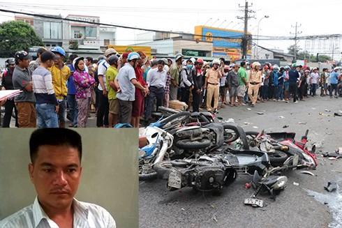 Cơ quan CSĐT đã bắt giữ tài xế lái xe container gây tai nạn liên hoàn trên QL1