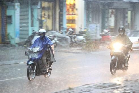 Do ảnh hưởng không khí lạnh khiến nhiều nơi mưa rào, trời rét đậm, rét hại
