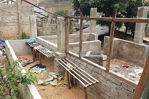 Hiện trường nơi tìm thấy thi thể nữ sinh giao gà bị sát hại
