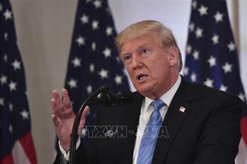 Tổng thống Mỹ Donald Trump (Ảnh: TTX)