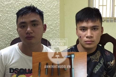 Chân dung hai thanh niên chuyên trộm xe SH