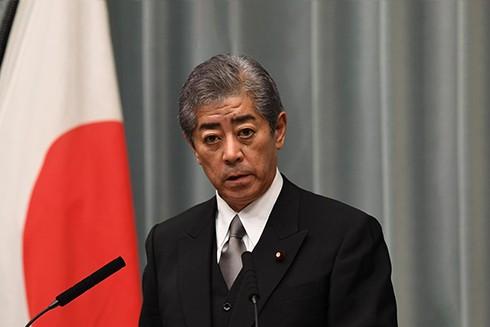 Bộ trưởng Quốc phòng Nhật Bản Takeshi Iwaya